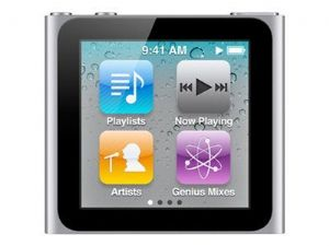 Apple iPod Nano - 6th generation - digital player / radio - flash Silver 16 GB